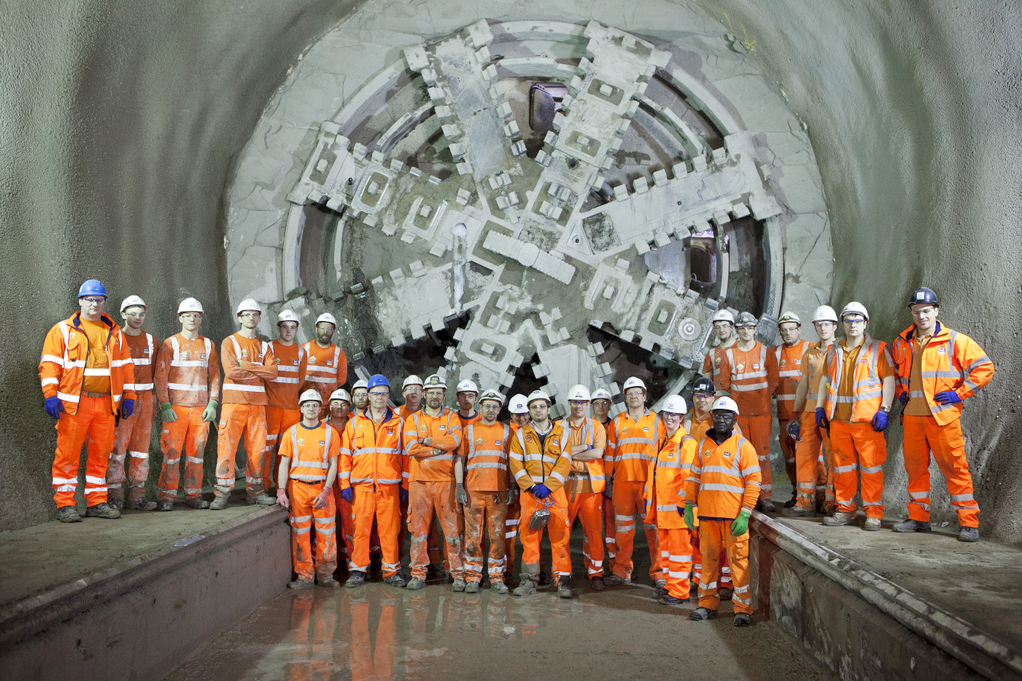 Step Inside London's Cavernous New Train Tunnels