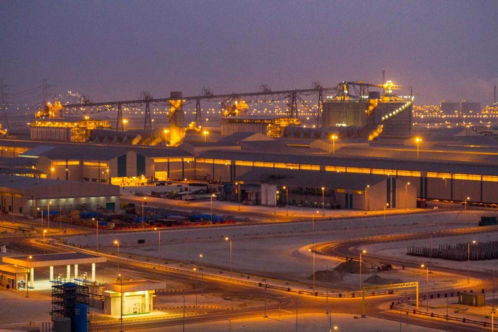 Ras Al Khair, which was delivered under budget and ahead of schedule in 2013, can produce 740,000 tpa of aluminum