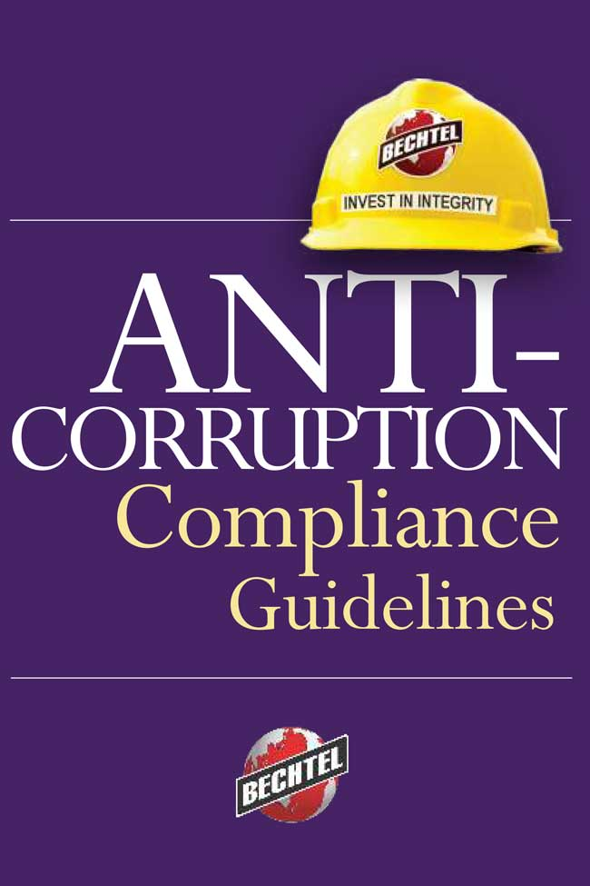 bechtel anti-corruption compliance guidelines