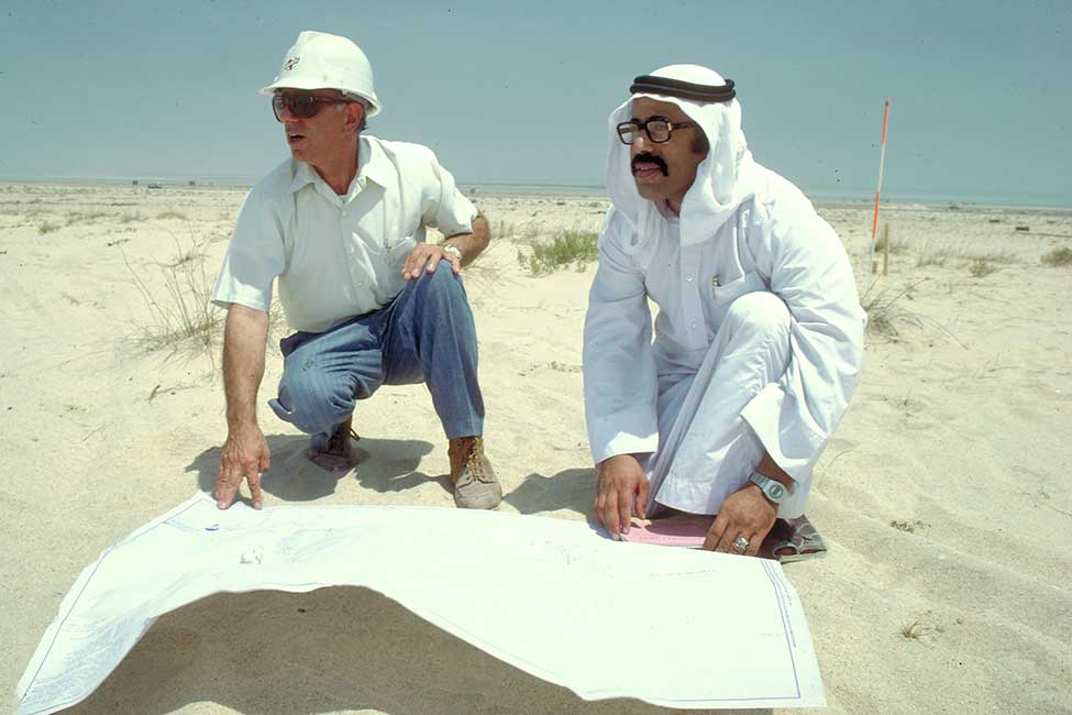 Bechtel has managed Jubail, located in Saudi Arabia's Eastern Province, since it began in the mid-1970s