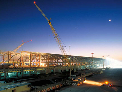 Dubai Airport Construction