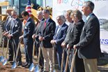 The groundbreaking ceremony for the new Pantex Administrative Support Complex