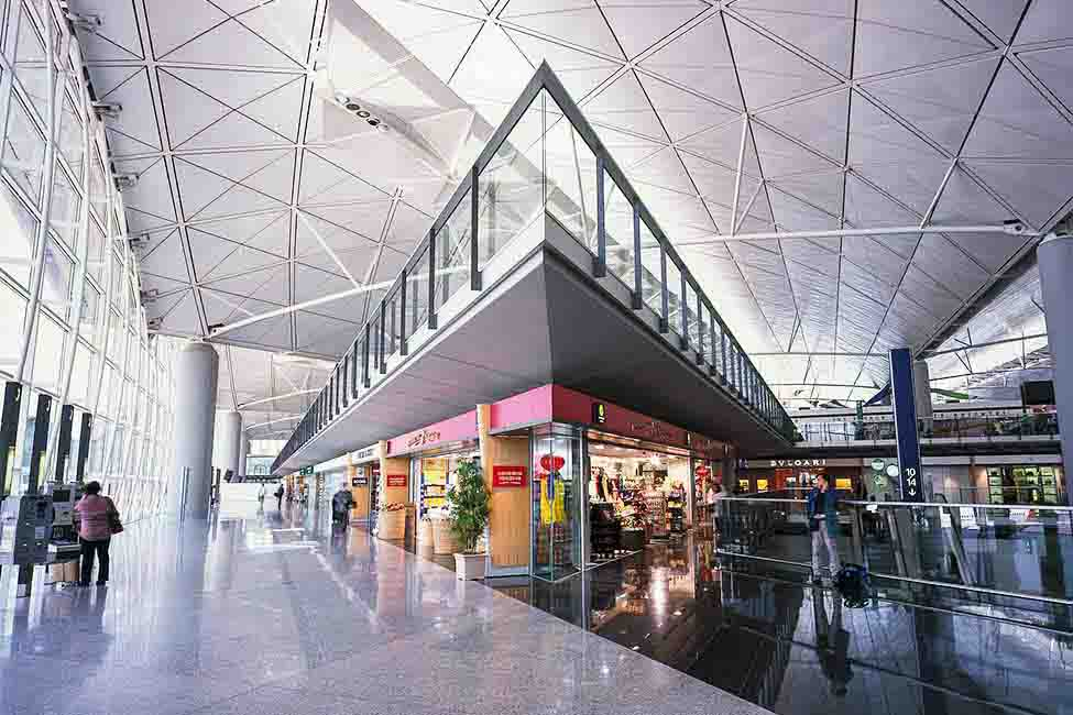 The airport was designed to alleviate some of the congestion associated with Hong Kong's continuous growth as a center of business