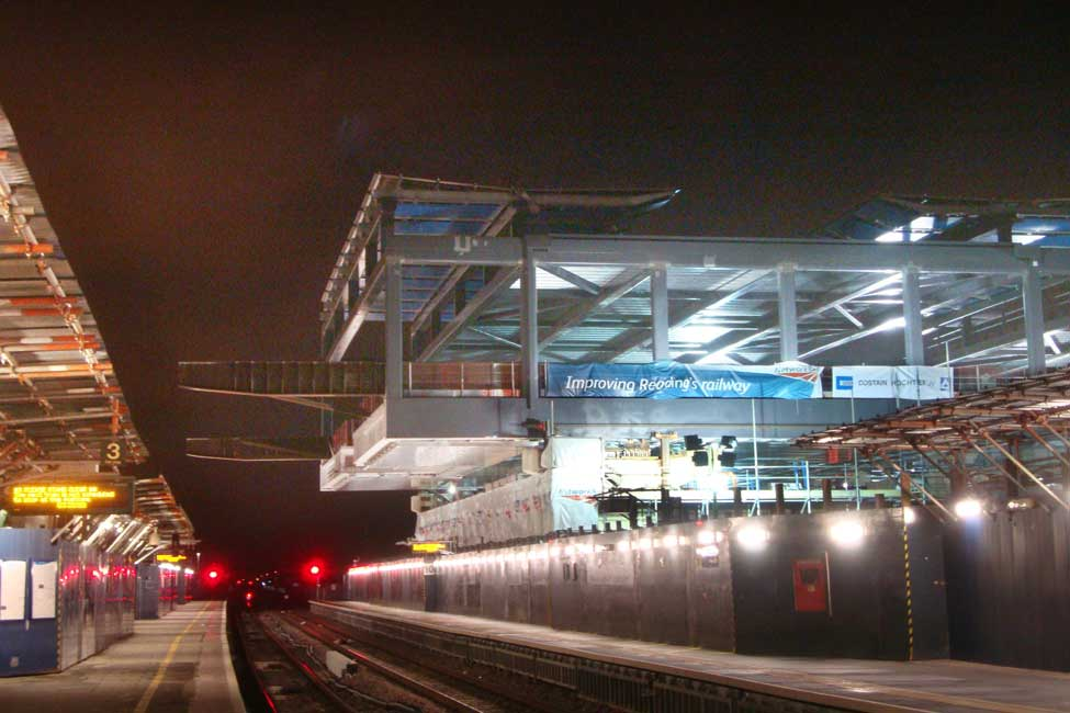 The expansion doubled capacity at Reading, allowing it to accommodate up to 30 million passengers a year