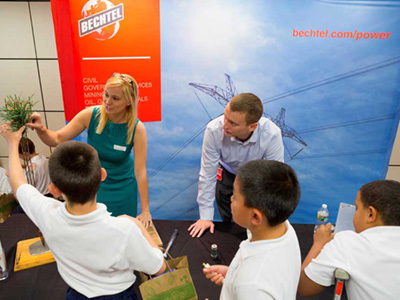 Bechtel and Petrofac partnered to support INJAZ UAE on Innovation Day Camp