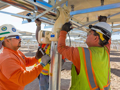 Ivanpah Solar Project Reaches Halfway Mark and Peak of Construction Employment