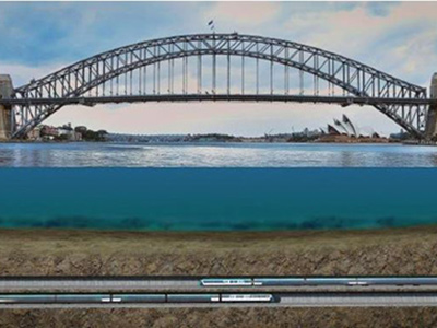 Work on the rail lines beneath Sydney Harbour is to start within 18 months